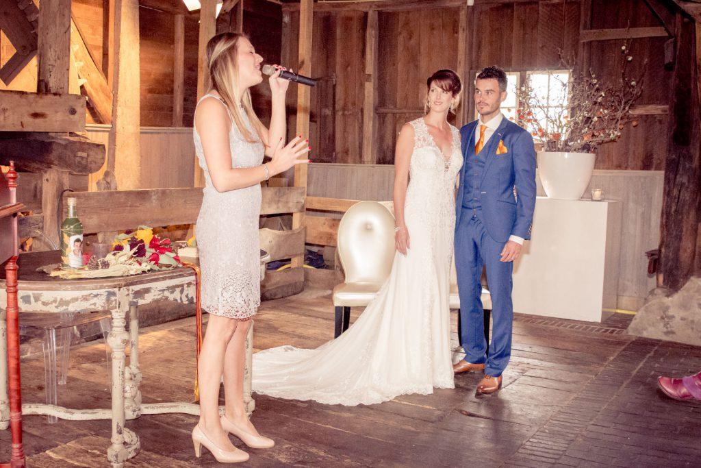 Huwelijkszangeres Brabant Steffi Ras